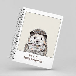 Be Silly Little Hedgehog Notebook