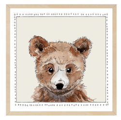 Baby Bear | Woodland Animals | Baby Boy Room | Nursery Art | Print By Suzanne Anderson
