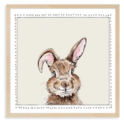 Baby Bunny | Woodland Animals | Baby Boy Room | Nursery Art | Print By Suzanne Anderson