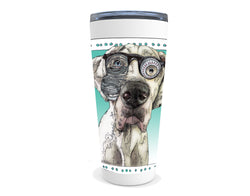 Great Dane drink tumbler with quote