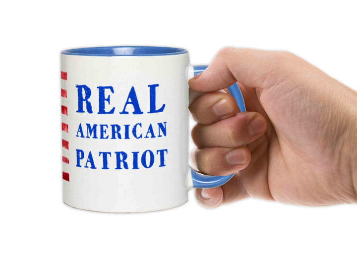 Real American Patriot Accent Mug