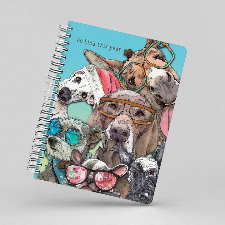 Dogs & Donkey Whimsical Notebook