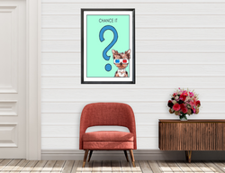 Take a Chance | Monopoly Art | Kids Room Decor | Fun Decor | Art Print By Suzanne Anderson