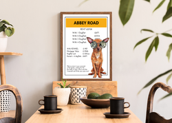 Abbey Road | Monopoly Art | Girls Room Decor | Art Print By Suzanne Anderson