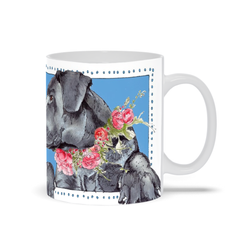 Black Labrador Retreiver | Labs | Mugs by Suzanne Anderson