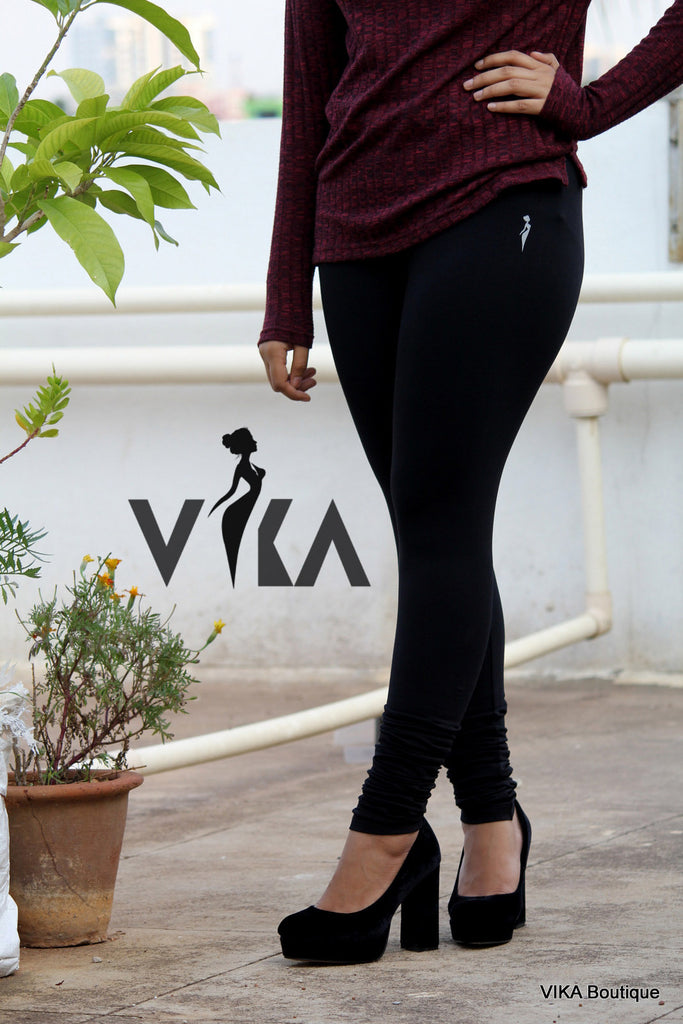 Black Leggings - VIKA Boutique