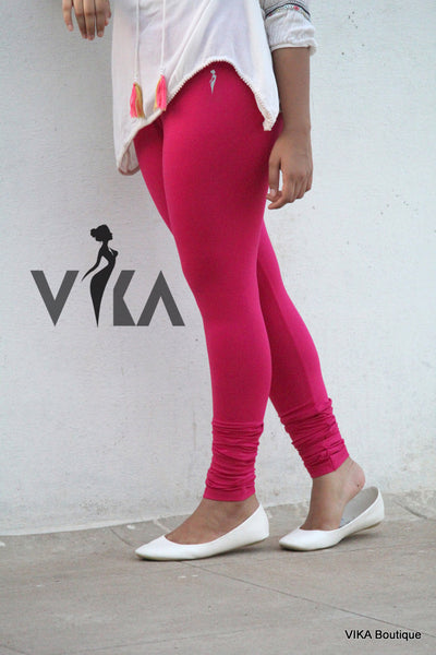 Fuschia pink Leggings