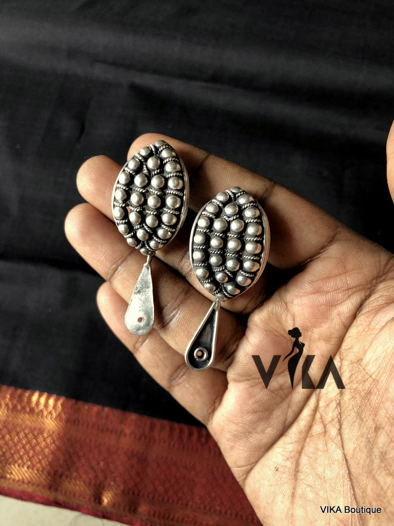 925 pure silver earring - VIKA Boutique
