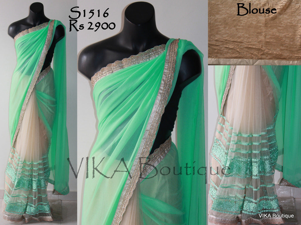 Designer saree - VIKA Boutique