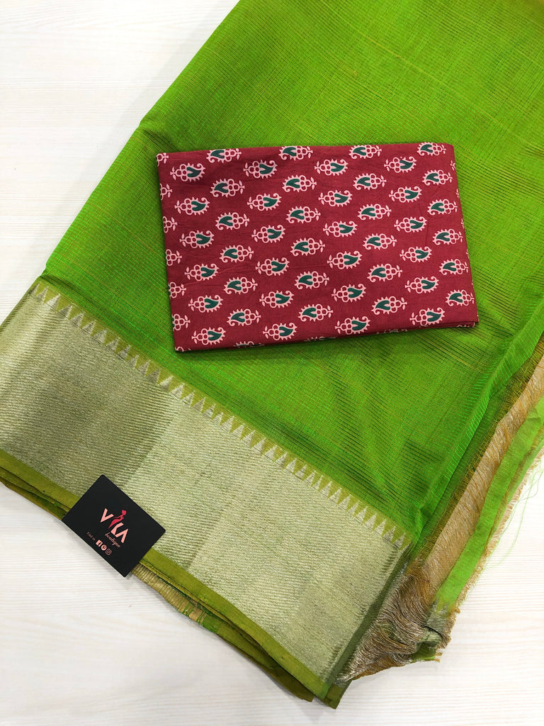Mangalgiri silk saree