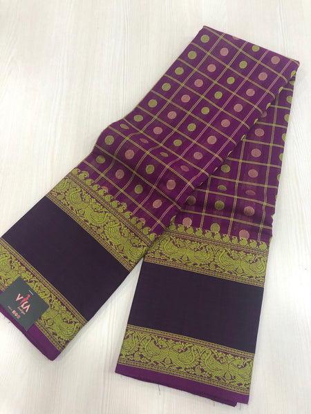 1000 bhutta Chettinad Cotton saree