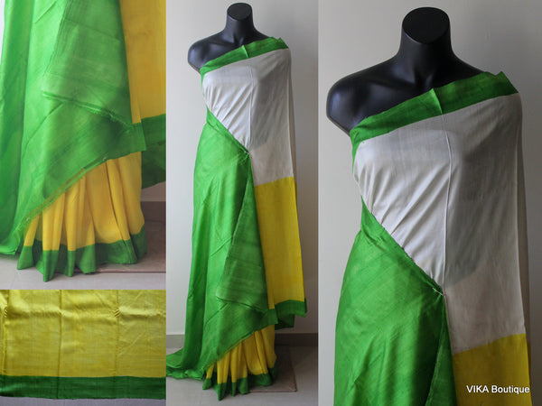 Bhisnupuri silk saree - VIKA Boutique