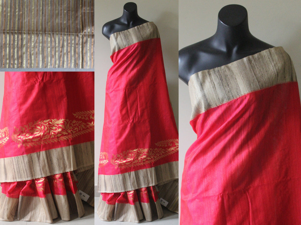 Banaras Desi Silk saree - VIKA Boutique