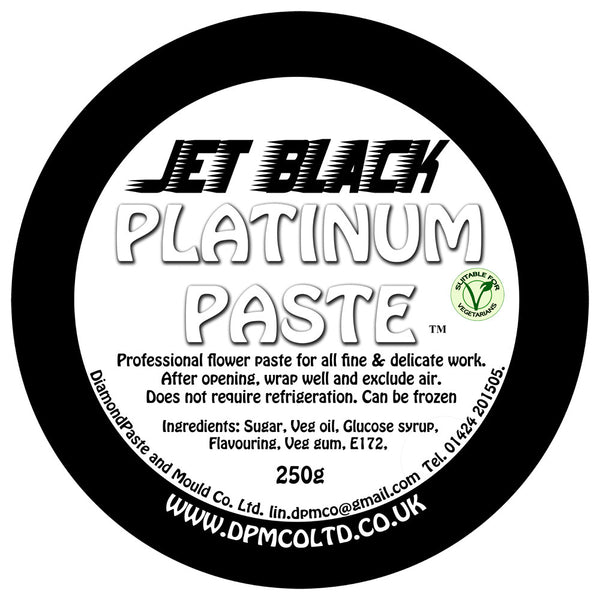 Jet Black Platinum Paste