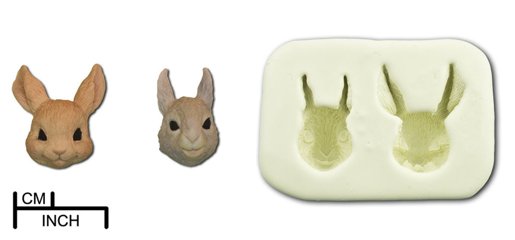 Animal Heads. Rabbit/Squirrel