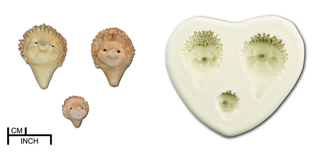 Animal Heads. Hedgehogs