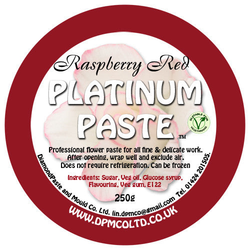 Raspberry Red Platinum Paste