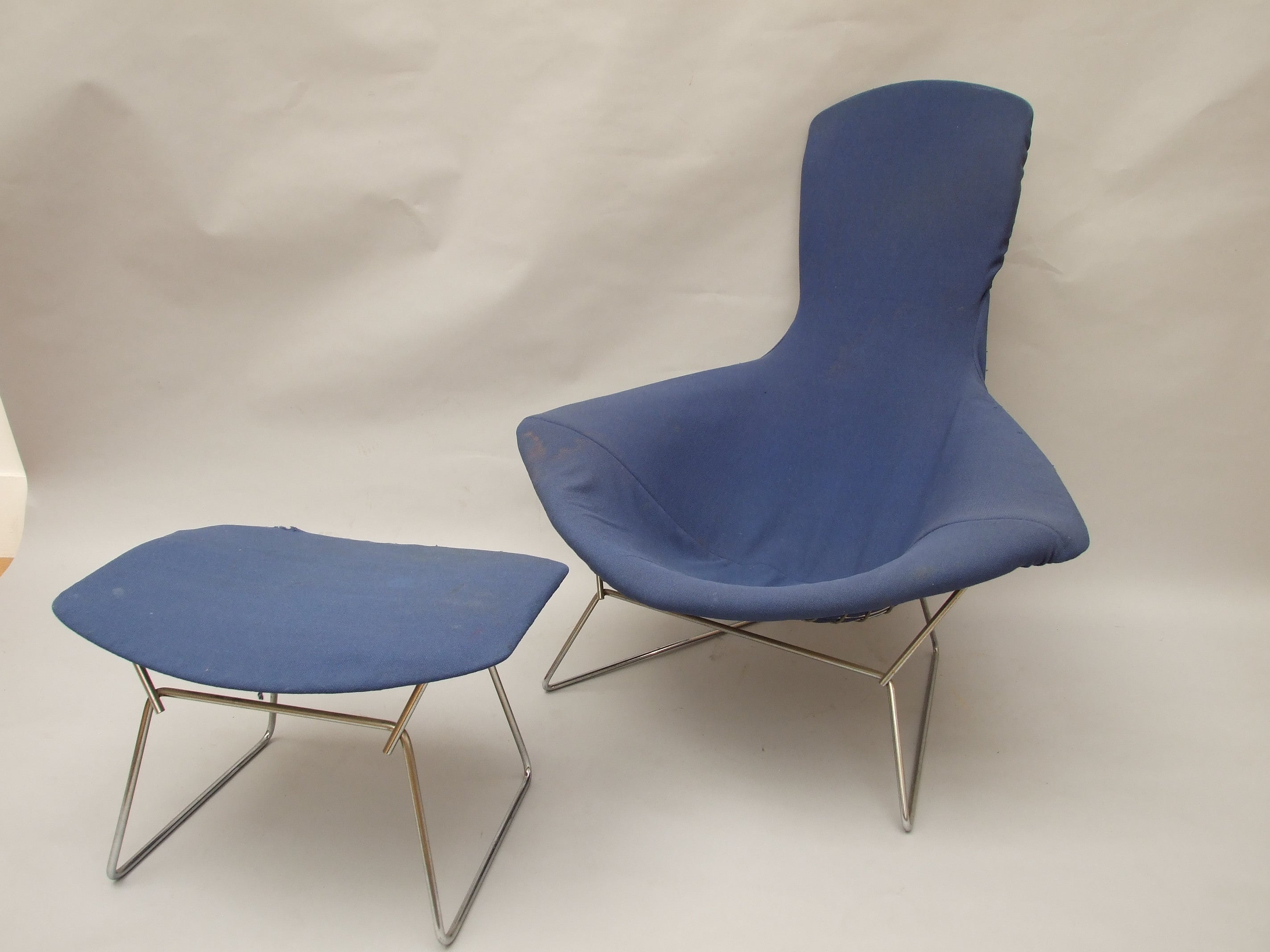 Harry Bertoia Bird chair and stool The Millinery Works