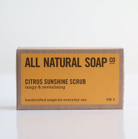 Citrus Sunshine Scrub Soap