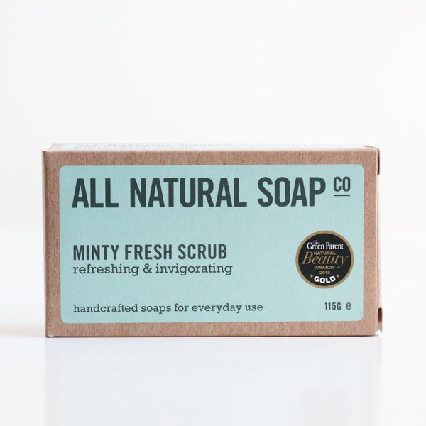 Minty Fresh Scrub Soap