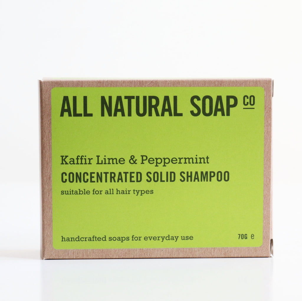 Kaffir Lime & Peppermint Shampoo Bar