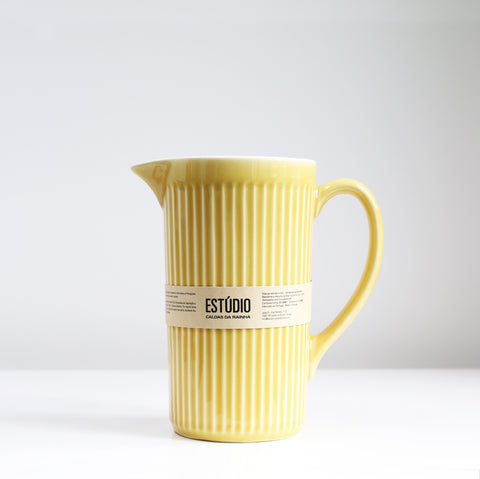 Fluted Water Jug