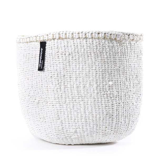 Small White Kiondo Basket