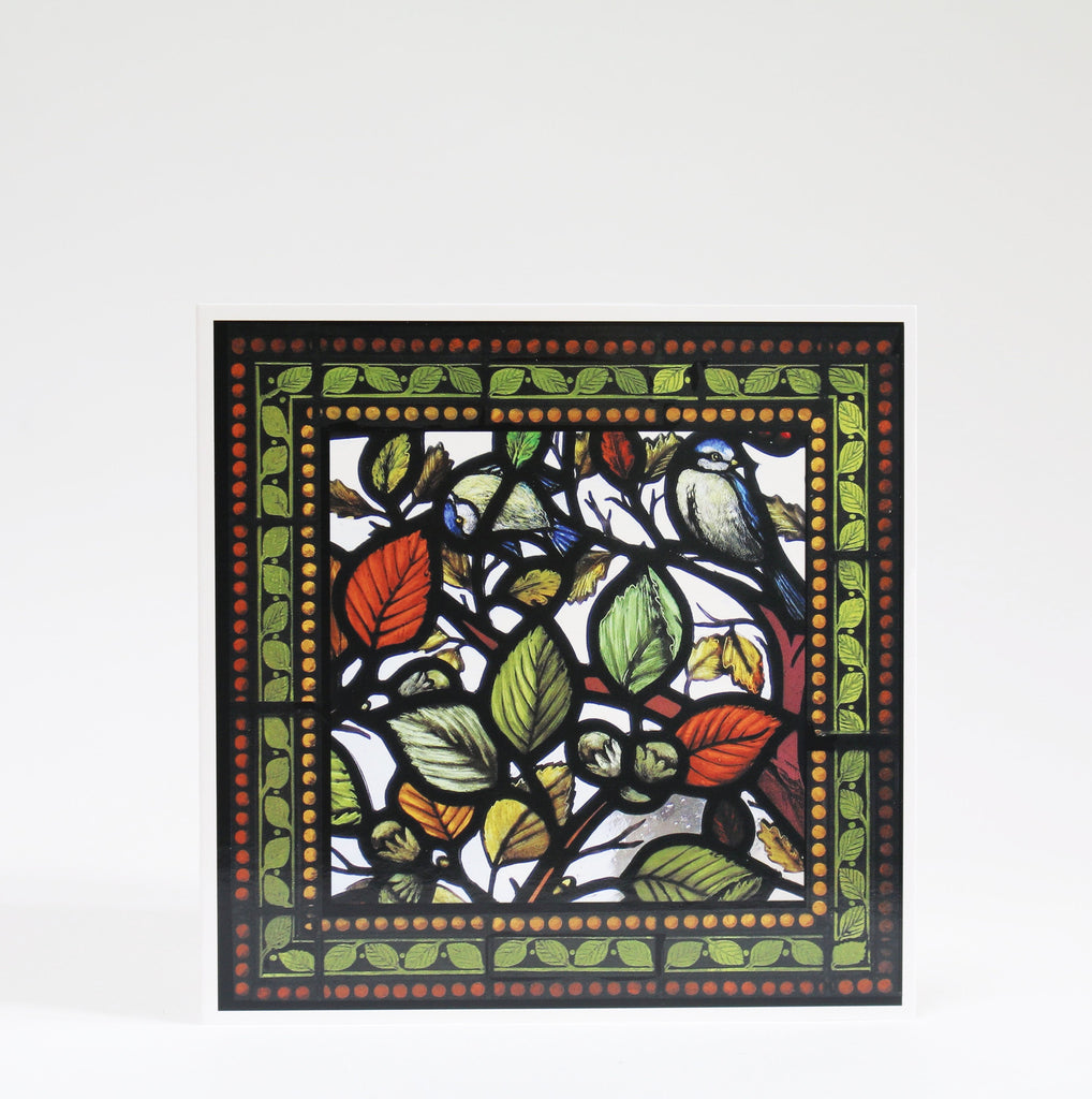 Stained Glass Greetings Cards