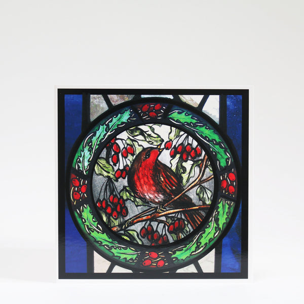 Stained Glass Christmas Cards
