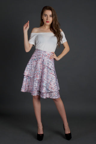 Uneven State Of Mind Skirt