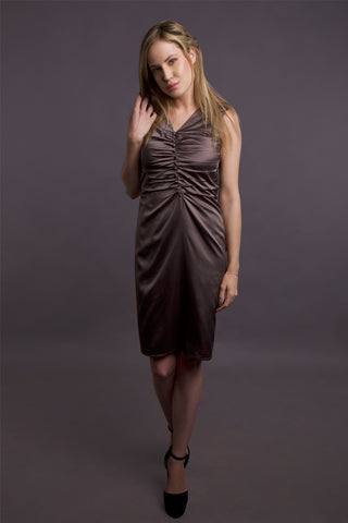 Satin City Dress