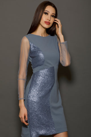 Shimmer Down The Lane Dress