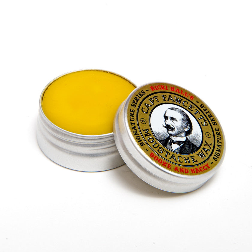 Captain Fawcett's Ricki Hall's Moustache Wax (0.5 oz)
