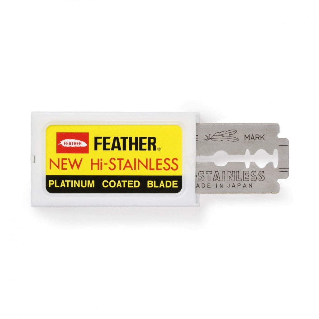 Feather Double Edge Razor Blades
