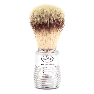 Omega HI-BRUSH SERIES Synthetic Fiber Hair Shaving Brush