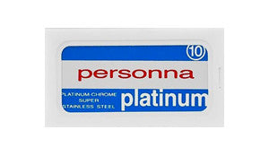 Personna Platinum Chrome Double Edge Safety Razor Blades