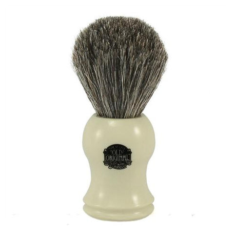 Progress Vulfix Pure Badger Shaving Brush, Cream Molded Handle VX-2006C