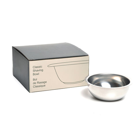 Shaving Bowl, Stainless Steel