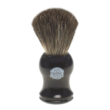 Progress Vulfix Pure Badger Shaving Brush, Black Handle VX-2006B