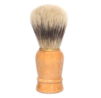 Vie-Long Bristle Shaving Brush, Wood Handle (handmade)