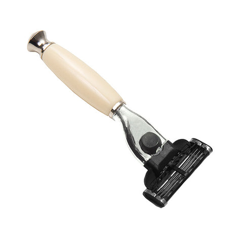 Cartridge Shaving Razor with Cream Handle - Mach3 Head