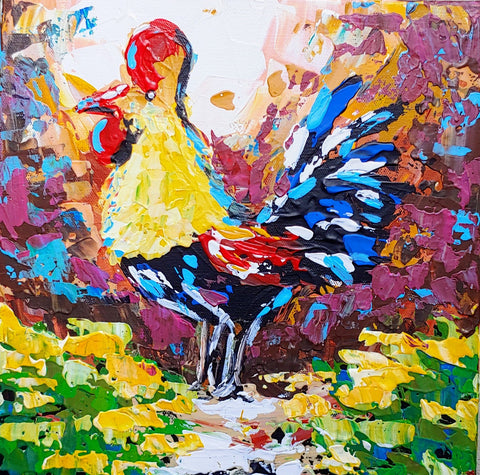 Abstract Rooster VII