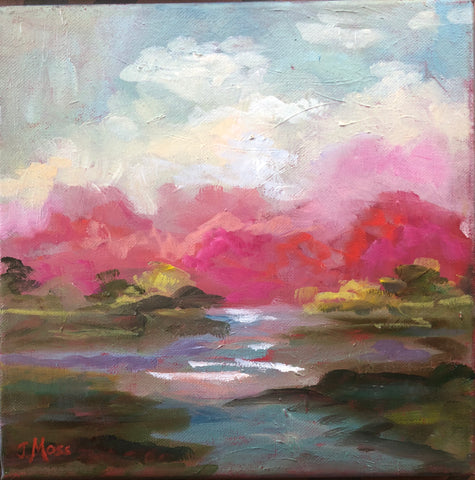 Pink Sky Landscape | Christenberry Collection