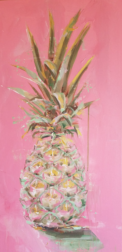 Still Life - Miami painting Kym De Los Reyes - Christenberry Collection