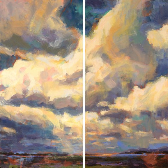 Above and Beyond Giclee painting Kelly Berger - Christenberry Collection