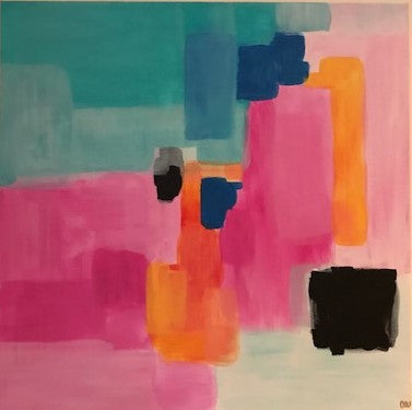 Color Pop painting Ashley Williams - Christenberry Collection
