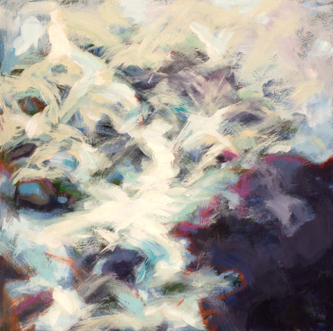 Flowing painting Kelly Berger - Christenberry Collection