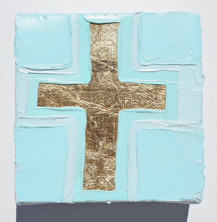 Cross 4 painting Amanda Petro - Christenberry Collection