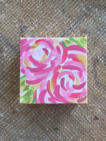 Abstract Flowers painting Ashley Williams - Christenberry Collection