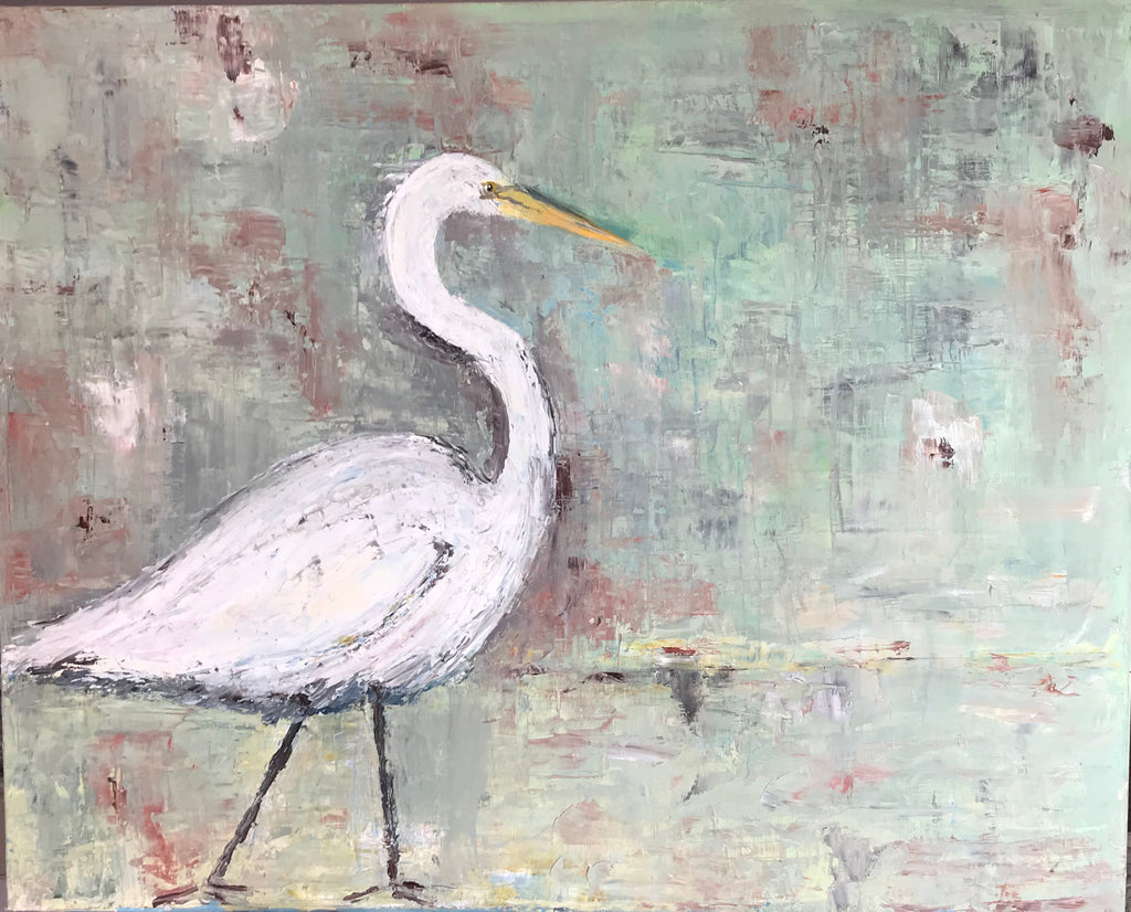 Heron in Green | Christenberry Collection